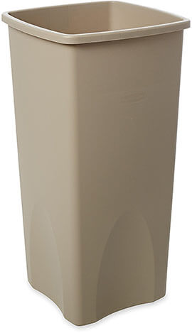 Rubbermaid Commercial Plastic Garbage Bin