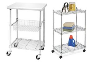 Top 10 Best Stainless Steel Kitchen Carts In 2017 Review