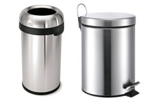 Top 10 Best Stainless Steel Trash Cans In 2017 Review