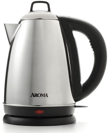 Aroma Housewares Hot H20 X-Press Cordless Electric Kettle