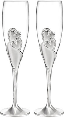 Hortense B. Hewitt Wedding Accessories Champagne Glass Flutes