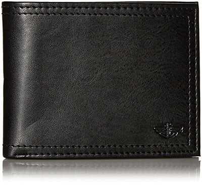 Dockers Extra Capacity Men's Bifold Credit Card Wallet