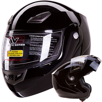 IV2 Modular Flip-up Helmet Motorcycle