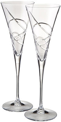 Lenox Adorn Clear Toasting Flute