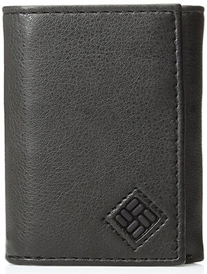 Columbia Trifold Men's Security Credit Card Wallet