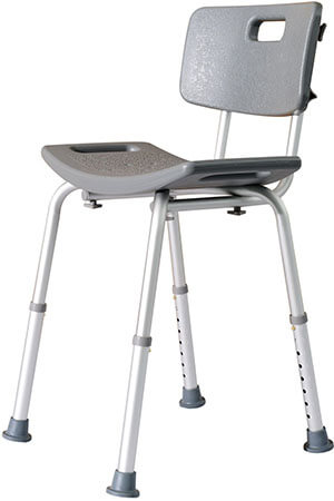 HomCom Medical Bathtub Safety Stool/Bench Shower Seat