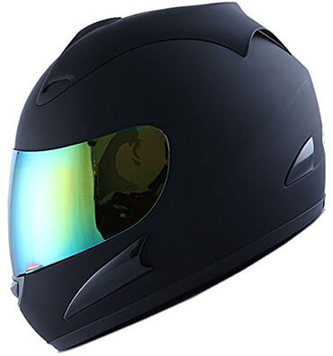 WOW Full Face Racing Star Motorcycle Street Bike Helmet