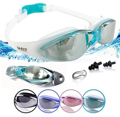U-FIT Performance Swimming Goggles