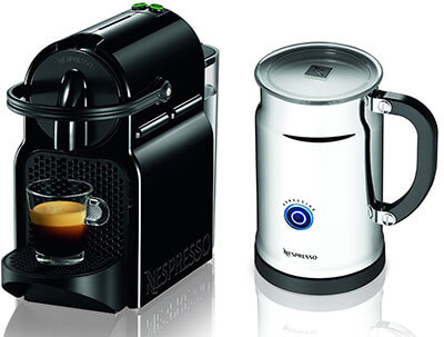 Nespresso Inissia Black Espresso Coffee Machine