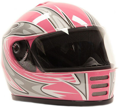 Typhoon Helmets Pink Youth Helmet