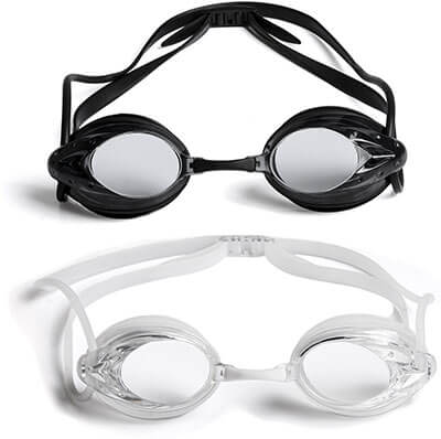 2-Pack Swimming Goggles by The Friendly Swede