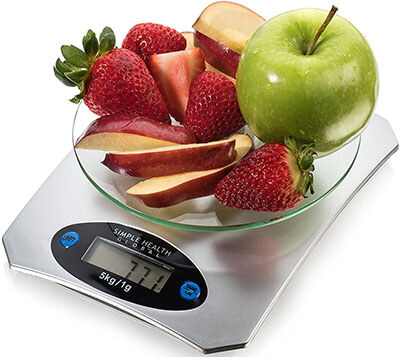 Digital Food Scale by Simple Health Global