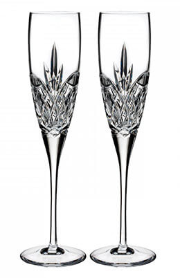 Waterford Love Forever Champagne Glass Flutes