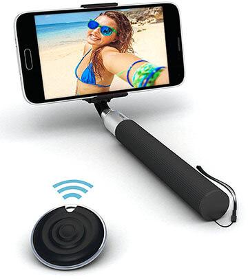 Selfie World Bluetooth 360 Degree Monopod Selfie Stick