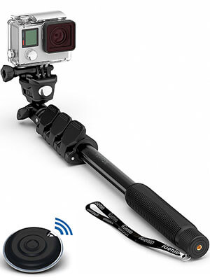 Selfie World 10-in-1 Monopod Selfie Stick