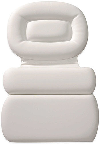 HomeCrate Non-slip Spa Bath Pillow, Head, Neck, and Shoulder support