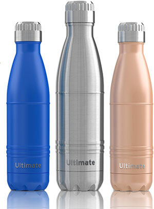 Ezisoul Ultimate Double Wall Stainless Water Bottle