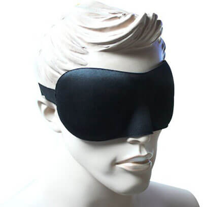 Ally Black 3D Eye Mask