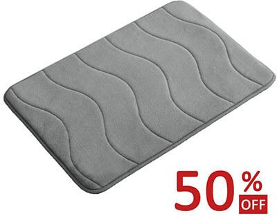 FlamingP Memory Foam Non-Slip Bath Mat