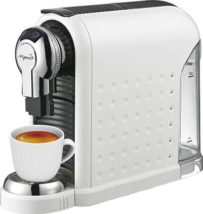 Mixpresso Coffee White Espresso Machine