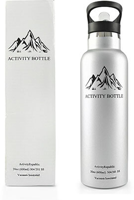 Activity Bottle Stainless Steel Water Bottle