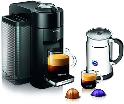 Nespresso A+GCC1-US-BK-NE VertuoLine Evoluo Coffee Maker