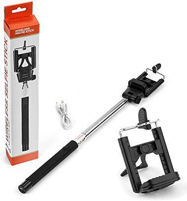 Kea Sigma Delta KSD-SELFIE-32BT Stainless Steel Selfie Stick