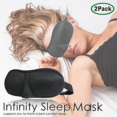 Infinity 3D Eye Mask Set of 2