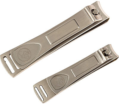 Premium Nail Clipper Set, Stainless Steel Finger/ Toenail Clippers