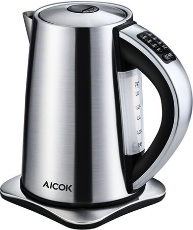 Aicok Cordless Stainless Steel Electric Water Kettle