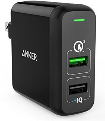 Anker Quick Charge Dual USB Wall Charger