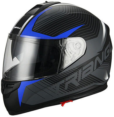 Triangle Helmet Street Bike Motorcycle Helmet