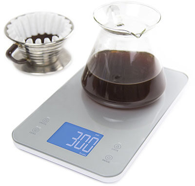 Greater Goods Nourish Digital Food and Coffee Kitchen Scale