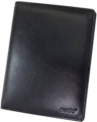 AurDo RFID Leather Travel Unisex Wallet