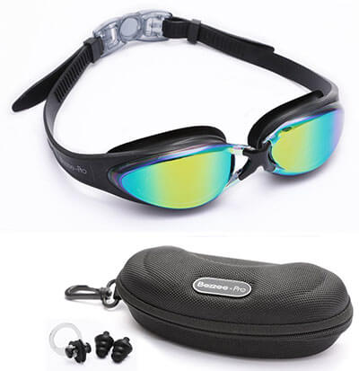 Bezzee-Pro Adult Swimming Goggles