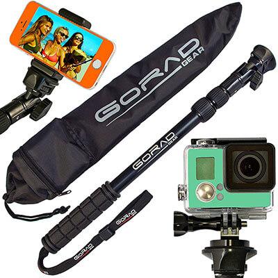 GoRad Gear Waterproof Selfie Stick