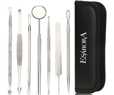 ESARORA Blackhead Remover Kit, 7 Professional Tools