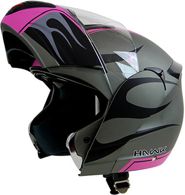 Hawk Helmets H-6656 Blaze Motorcycle Helmet