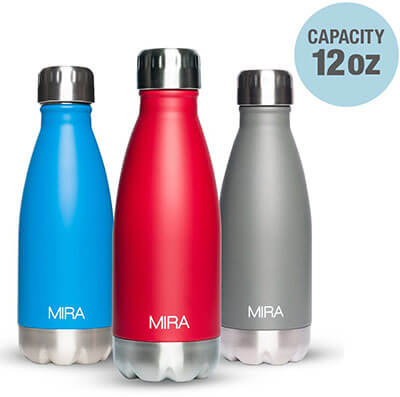 Mira Stainless Steel Travel Water Bottle