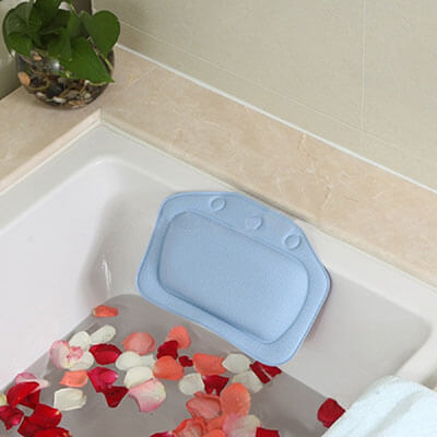AnGeer PVC Foam Spa Bath Pillow