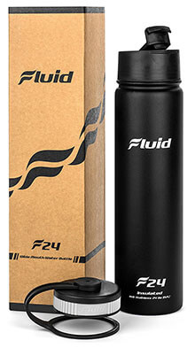Fluid Sports Stainless Water Bottle