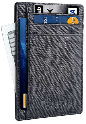 Travelambo Minimalist Slim Men's Leather Wallets
