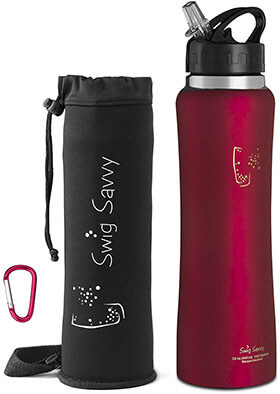 Swig Savy Stainless Steel Water Bottle