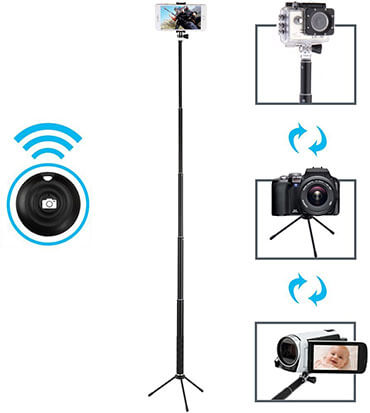 Maono Waterproof Bluetooth Selfie Stick