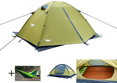 Luxe Tempo Enhanced 2-Person Tent for Camping