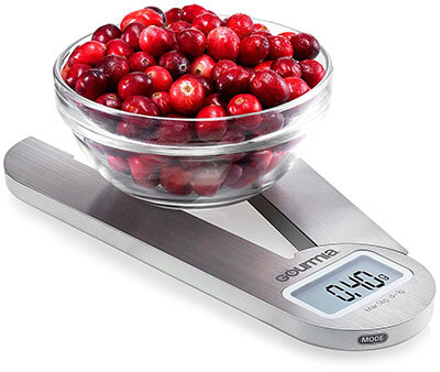 Gourmia GKS9160 Foldable Digital Scale