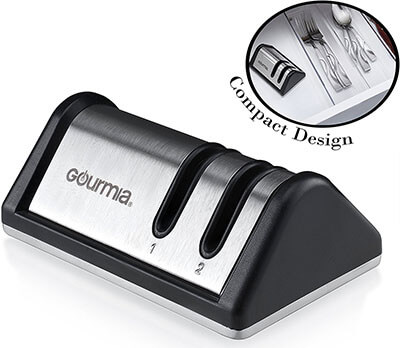 Gourmia GSH9710 Compact Knife Sharpener