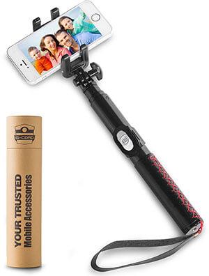 G-Cord Foldable Bluetooth Selfie Stick