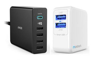 Top 20 Best USB Wall Chargers In 2017