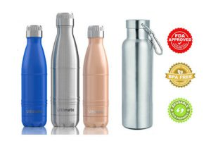Top 20 Best Stainless Steel Water Bottles In 2017 Reviews